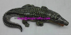 Polyresin Crocodile