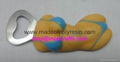 Bottle Opener Magnet Bik