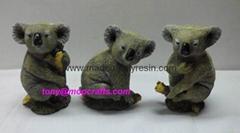 Polyresin Koala Statue