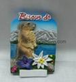 Resin Italy souvenir fridge magnet