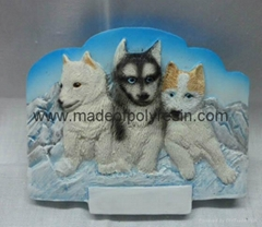 Customized wolf fridge m