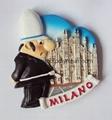 Milano Souvenir fridge magnet crafts