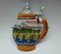 Praha Souvenir magnets decoration