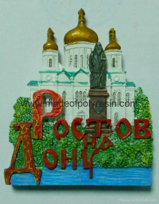 Polyresin Russian souvenir 1