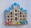 Polyresin Milano souvenir magnet items
