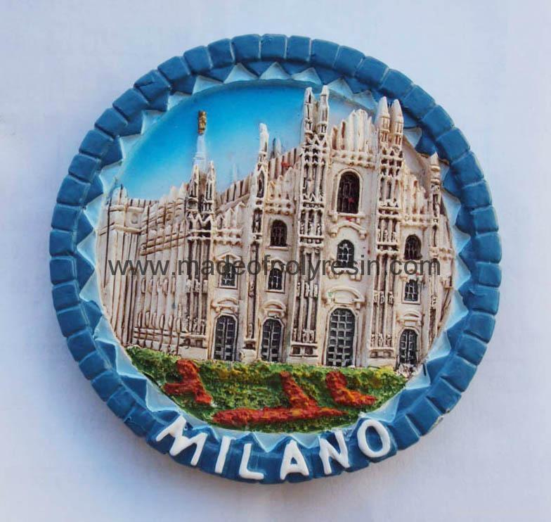 Polyresin Milano souvenir decoration 1