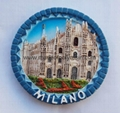 Polyresin Milano souvenir decoration