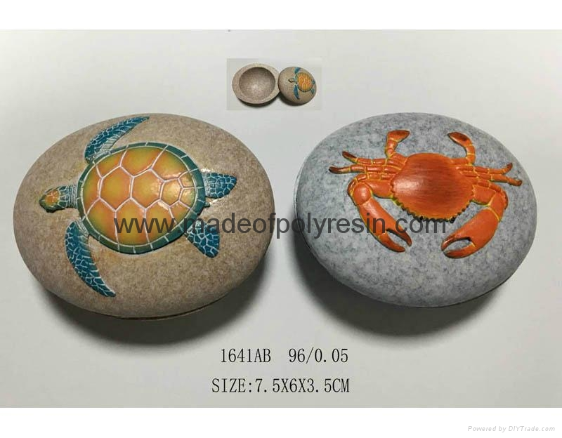 Good quality stone shape  jewellery box 1