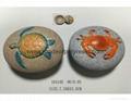 Good quality stone shape  jewellery box