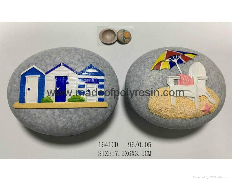 Personalized beach souvenir