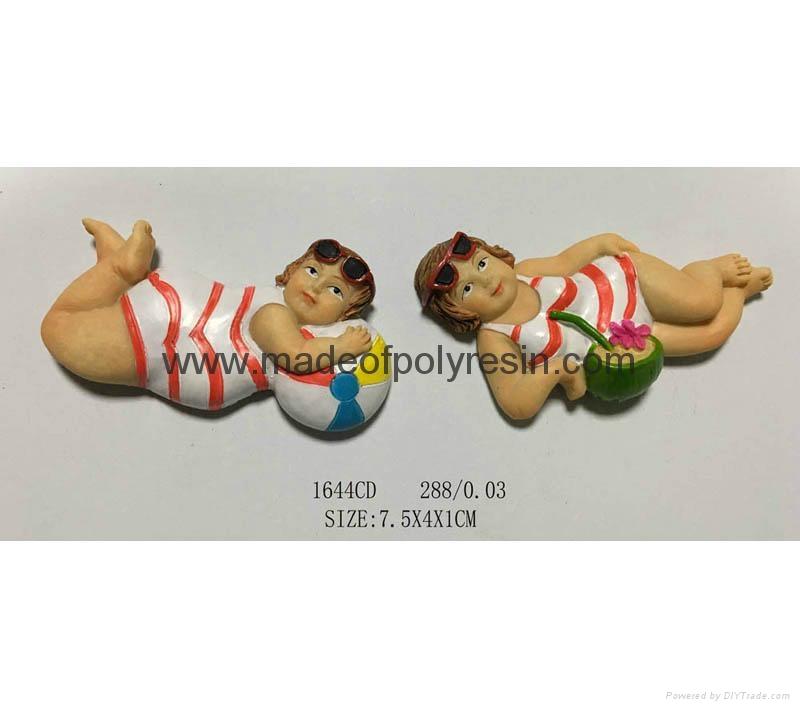 Polyresin figure crafts magnet 1