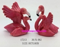 Resin  flamingo home decoration with