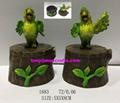 Polyresin jewellery box of Cartoon parrot 1