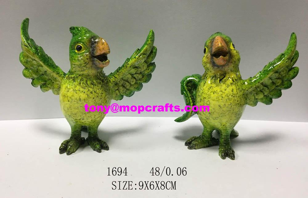 Parrot  figure and statue for home decor