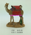 Polyresin camel statue for home decoration