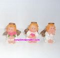 Polyresin mini crafts of cherub statue