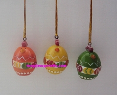 Polyresin egg crafts for Easter souvenir gifts