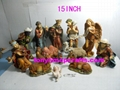 resin religious with large size