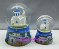 Greece souvenir snow globe with cheap