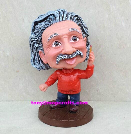 Resin bobble head crafts statue 1