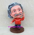 Resin bobble head crafts statue