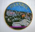 Polyresin Istanbul souvenir plate