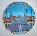 Polyresin Istanbul blue Mosque  with good carving crafts