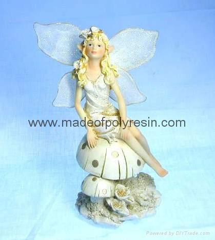 polyresin/polystone fairy figurine, fairy sculpture 1