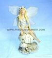 polyresin/polystone fairy figurine,