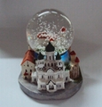 Tallinn Estonia Snow globe of souvenir gifts