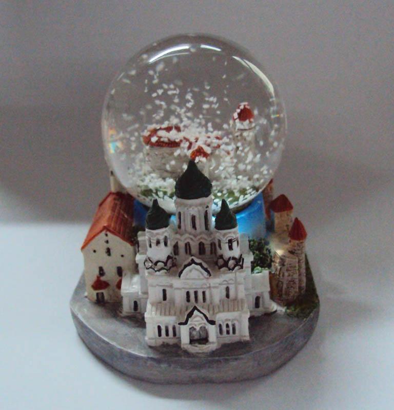 Tallinn Estonia Snow globe of souvenir gifts 1