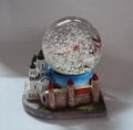 Polyresin 3D building base snowglobe for Rekoda Estonia 2