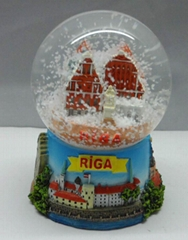 Tuulik Estonia Snow globe of tourist gifts