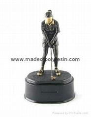 Polyresin sport trophy,