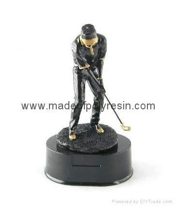 Polyresin sports trophy,polystone sports trophy, resin awards figure 1