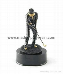 Polyresin sports trophy,polystone sports trophy, resin awards figure