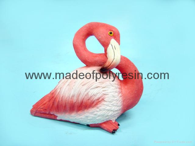 Poly resin flamigo crafts/gifts, flamigo bird, flamigo statue