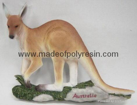 Polyresin/polystone Kangaroo statue crafts