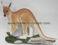 Polyresin/polystone Kangaroo statue