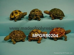 polyresin garden decoration turtle statue
