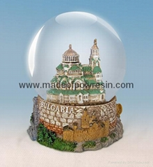 poly resin dome, polyresin water dome,domes promotion gifts