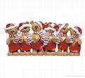 Table Top Bear Family-Christmas