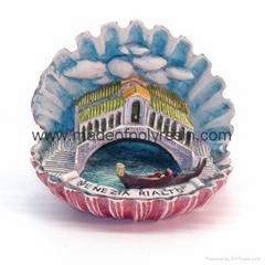 polyresin mini architecture castle model, artchitecture house design crafts