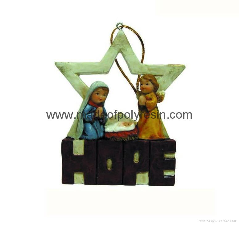 polyresin religious-holy family with words, holy family crafts,holy family craft 1