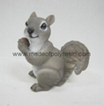 polyresin squirrel resin squirrel