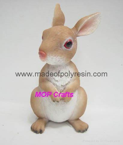 polyresin rabbit resin rabbit  1