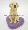 polyresin miniature dog  1