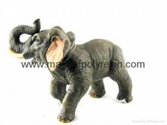 polyresin elephant resin