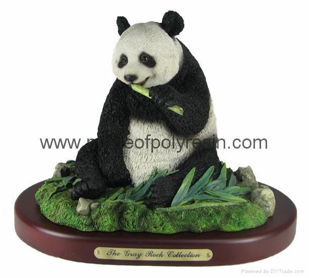 polyresin panda bear resin panda statue  1