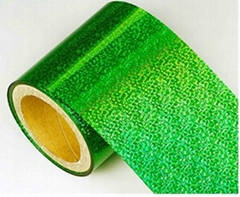 PVC Holographic Film (Used For Festival Tinsel Glitter)